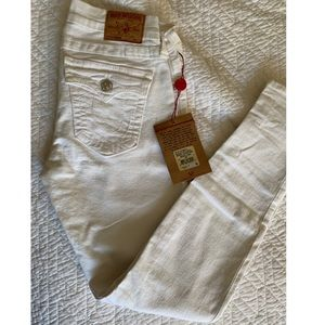 New Never Used! True Religion Jeans (white size 29